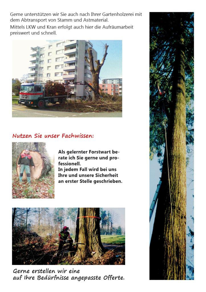 Gartenholzerei